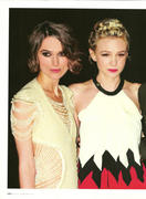 Keira Knightley and Carey Mulligan-Instyle February 2011
