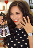 Майлин Класс, фото 854. Myleene Klass Promoting her fingernail range at Boots store in Liverpool - 02.02.2012, foto 854