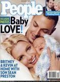 Scans of Britney Spears and family from People Magazine