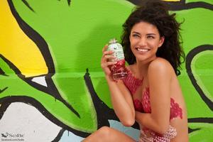 Джессика Зор, фото 997. Body Paint For Sobe Photoshoot / MQ Jessica Szohr Tagged, foto 997,