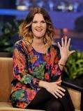 Дрю Бэрримор, фото 2848. Drew Barrymore 'The Tonight Show with Jay Leno' in Burbank - 02.02.2012*>> Video <<, foto 2848,
