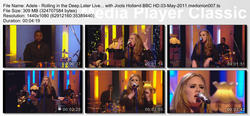 Adele x6 - Later Live/Later with Jools Holland, 3rd/6th May 2011 1080i HD