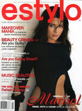 """Marisol Nichols """"Estylo"""" Magazine Cover"""