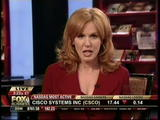 Liz Claman, Fox Business News - quite leggy (11-10-08)